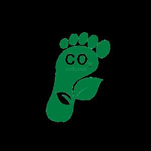 CO2 Fußabdruck transparent